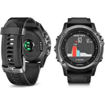 Garmin Fénix 3 Sapphire GPS-es multisport óra (szürke) zafír óraüveggel   010-01338-21