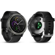 Garmin Vivoactive 3 GPS-es sportóra PVD-bevonatos fekete   010-01769-12
