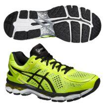 Asics Gel-Kayano 22 férfi futócipő (neonsárga-fekete-ezüst)  T547N-0790