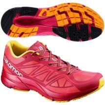 Salomon Sonic Aero (női) futócipő (pink-narancs)  379541