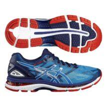 Asics Gel Nimbus 19 (férfi) futócipő (kék-fehér-piros)   T700N-4301