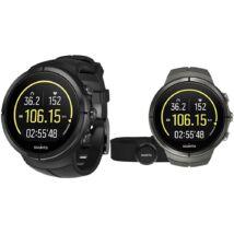 Suunto Spartan Ultra Stealth Titanium HR GPS-es multisport óra pulzusmérővel SS022656000