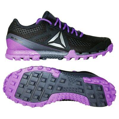 Reebok ALL TERRAIN SUPER 3 női terepcipő COAL/GREY/VIOLET/BLU BS5708 (Shoes)