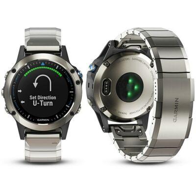 Garmin Quatix 5 GPS-es sportóra (zafír) 010-01688-41