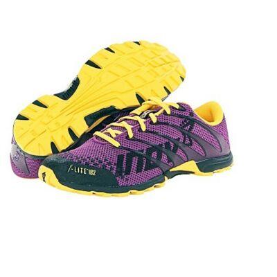 inov-8 F-LITE 182 (női) futócipő (lila-sárga-fekete) (Shoes)