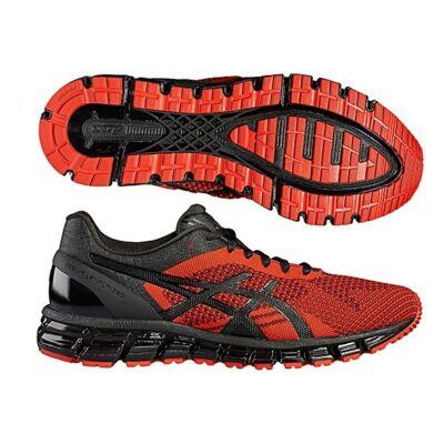 Asics Gel-Quantum 360 Knit (férfi) futócipő (piros-fekete-ónix) T728N-2690