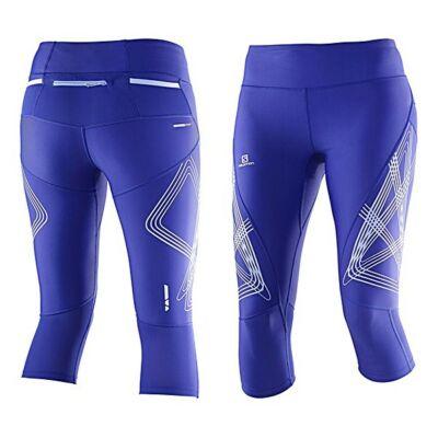 Salomon Intensity 3/4 Tight női kompressziós nadrág (kék) L39255200