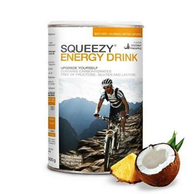 SQUEEZY Energy Drink 500g Kókusz / Ananász SI060