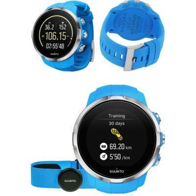 Suunto Spartan Sport HR GPS-es multisport óra mellkasi jeladóval (kék) SS022652000